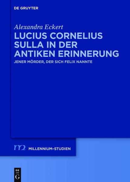 Lucius Cornelius Sulla in der antiken Erinnerung - Coverbild