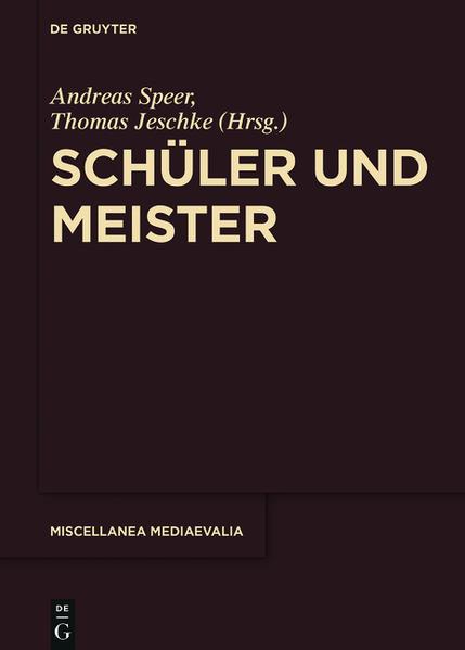 Schüler und Meister - Coverbild