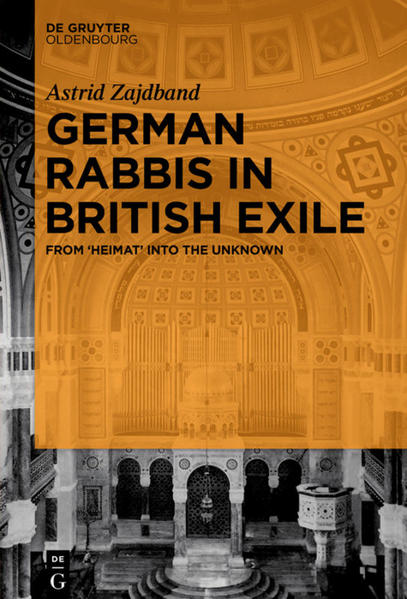 German Rabbis in British Exile - Coverbild