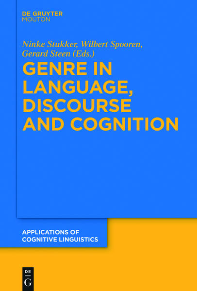 Genre in Language, Discourse and Cognition - Coverbild