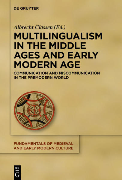 Multilingualism in the Middle Ages and Early Modern Age - Coverbild