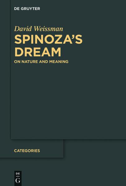 Spinoza's Dream - Coverbild