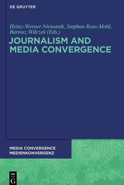 Journalism and Media Convergence - Coverbild