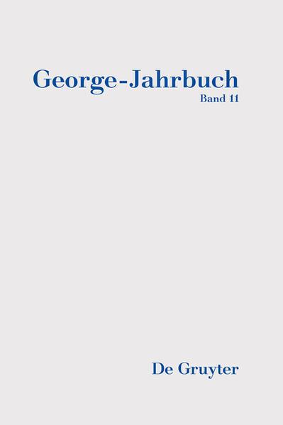 George-Jahrbuch / 2016/2017 - Coverbild