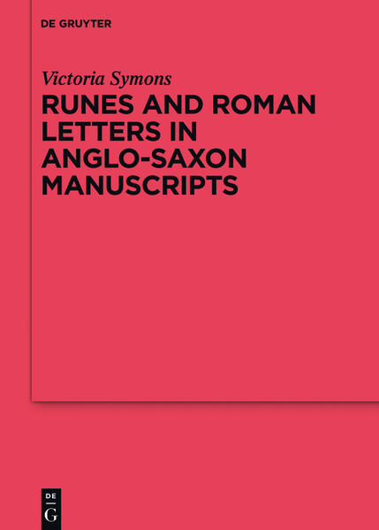 Runes and Roman Letters in Anglo-Saxon Manuscripts - Coverbild