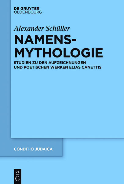 Namensmythologie - Coverbild