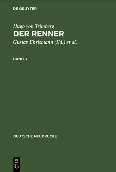 Der Renner - Coverbild