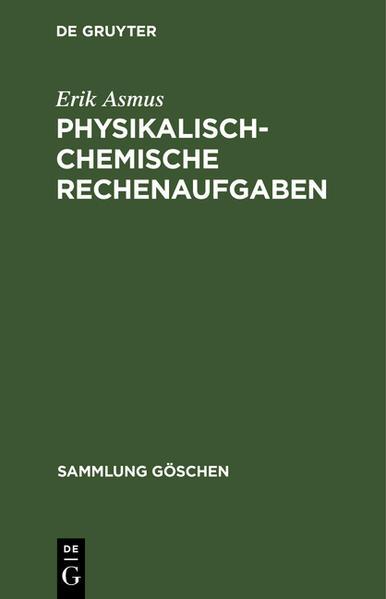 Physikalisch-chemische Rechenaufgaben - Coverbild