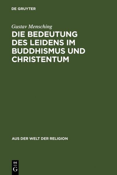 Die Bedeutung des Leidens im Buddhismus und Christentum - Coverbild
