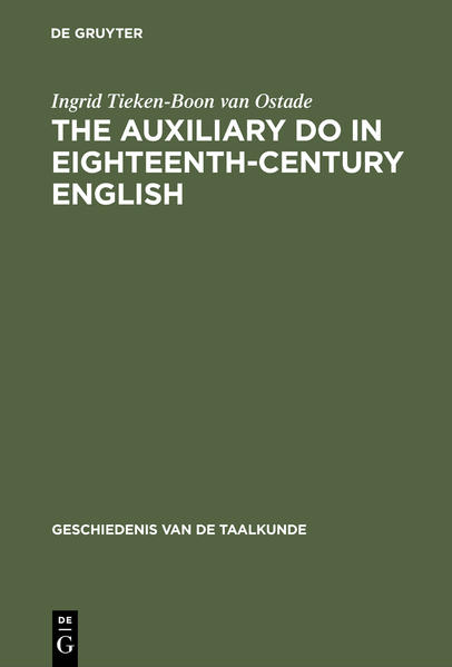 The auxiliary do in eighteenth-century English - Coverbild