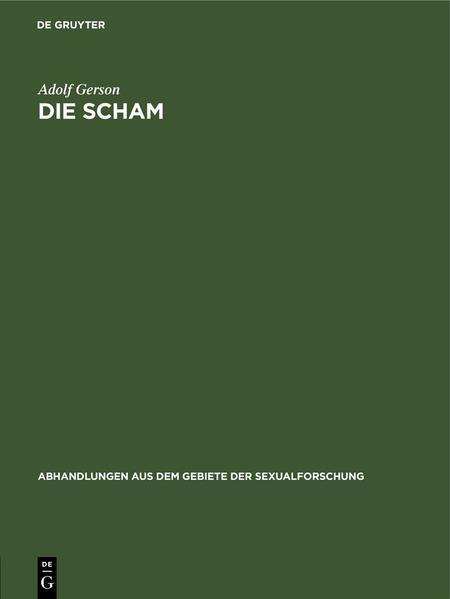 Die Scham - Coverbild
