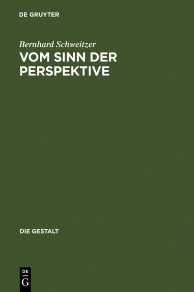Vom Sinn der Perspektive - Coverbild