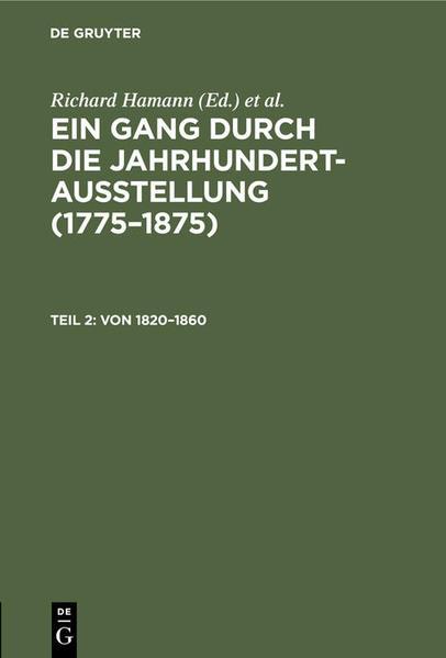 Von 1820 - 1860 - Coverbild