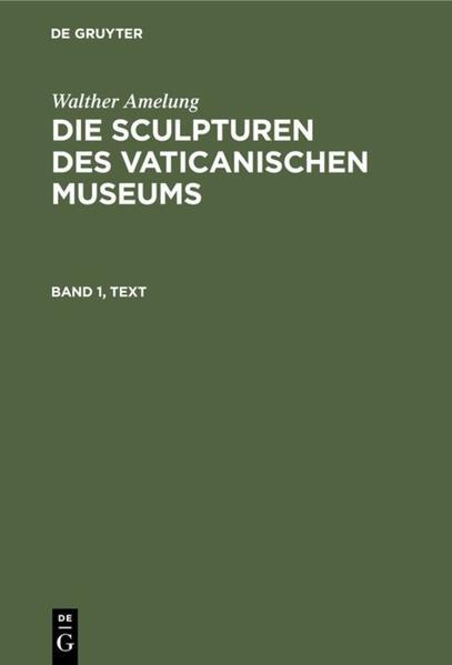 Die Sculpturen des Vaticanischen Museums - Coverbild