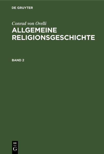 Allgemeine Religionsgeschichte - Coverbild