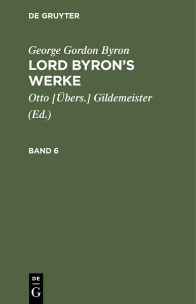 [Werke] Lord Byron's Werke : in sechs Bänden - Coverbild