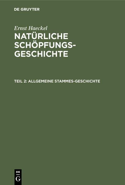 Allgemeine Stammes-Geschichte - Coverbild