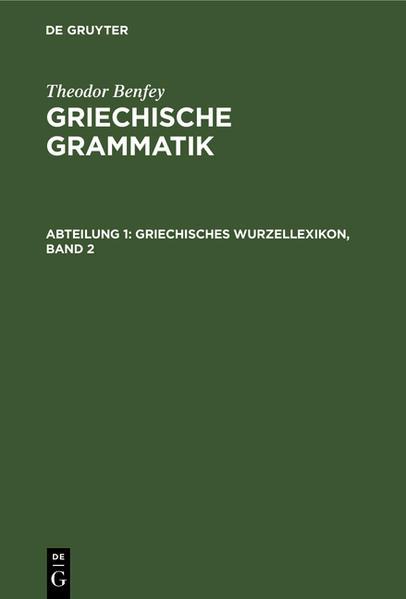 Griechisches Wurzellexikon - Coverbild