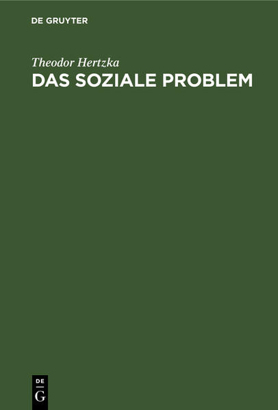 Das soziale Problem - Coverbild