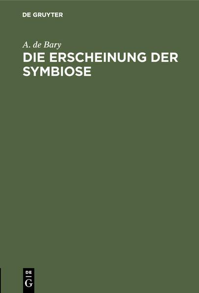 DieErscheinung der Symbiose - Coverbild