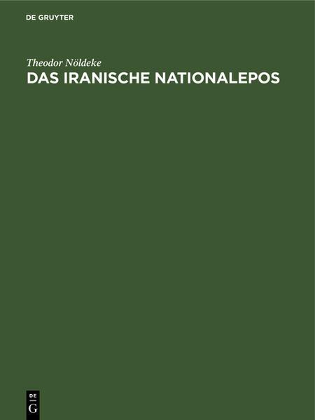 Das iranische Nationalepos - Coverbild