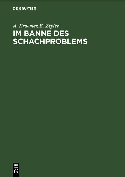 Im Banne des Schachproblems - Coverbild