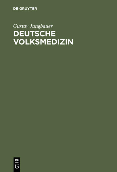 Deutsche Volksmedizin - Coverbild