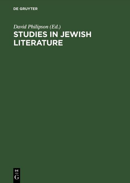 Studies in Jewish literature - Coverbild