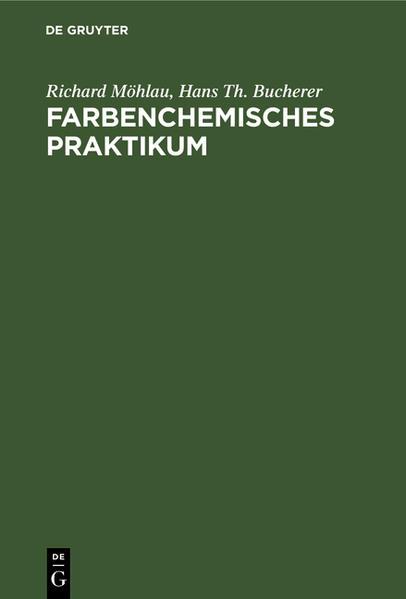 Farbenchemisches Praktikum - Coverbild