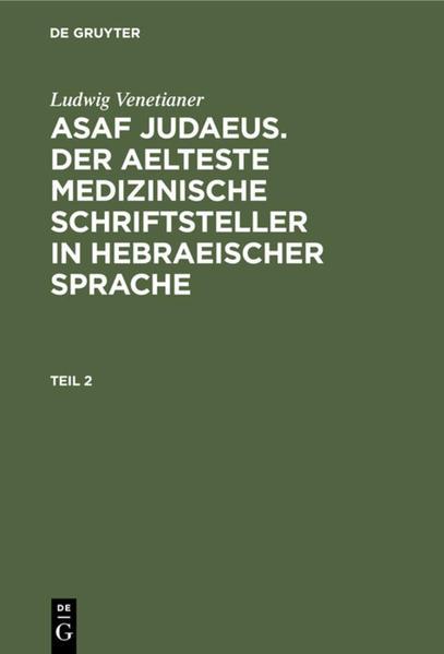 Asaf Judaeus - Coverbild