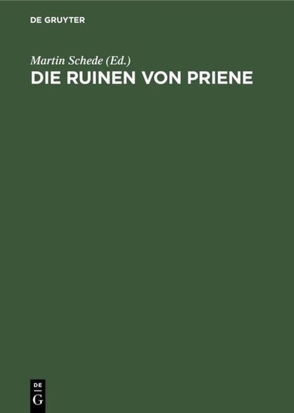 Die Ruinen von Priene - Coverbild