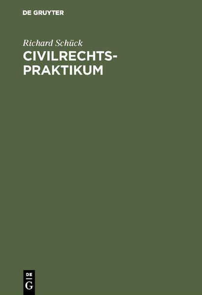 Civilrechtspraktikum - Coverbild