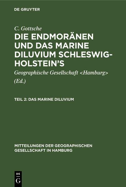 Das marine Diluvium - Coverbild