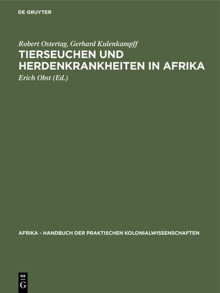 Tierseuchen und Herdenkrankheiten in Afrika - Coverbild