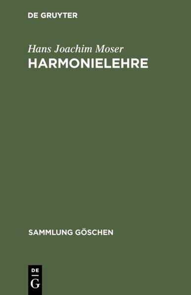 Harmonielehre - Coverbild