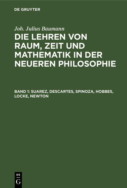 Suarez, Descartes, Spinoza, Hobbes, Locke, Newton - Coverbild