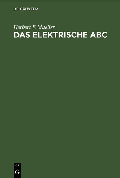 Das elektrische ABC - Coverbild