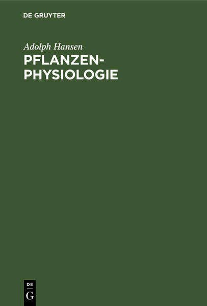 Pflanzen-Physiologie - Coverbild
