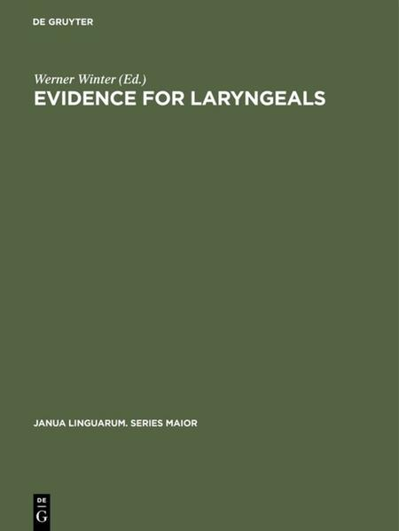Evidence for laryngeals - Coverbild