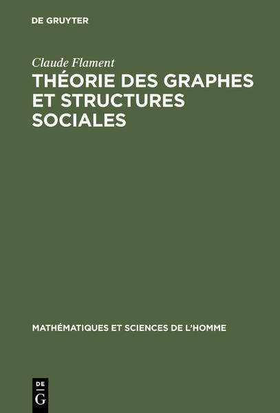 Théorie des graphes et structures sociales - Coverbild