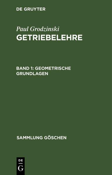 Geometrische Grundlagen - Coverbild