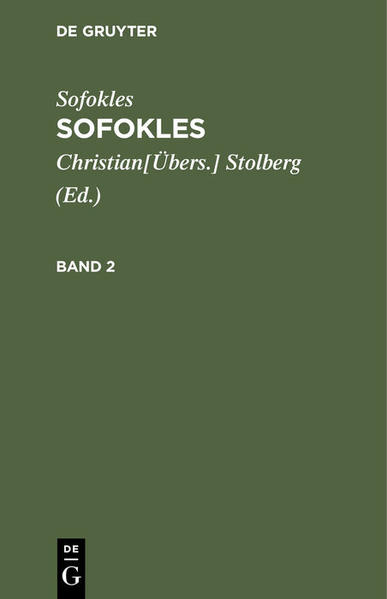 Sofokles - Coverbild