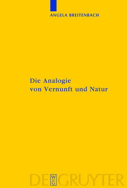 Die Analogie von Vernunft und Natur - Coverbild