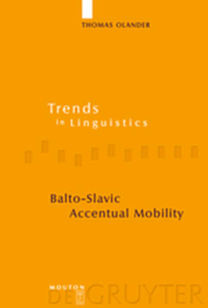 Balto-Slavic Accentual Mobility - Coverbild