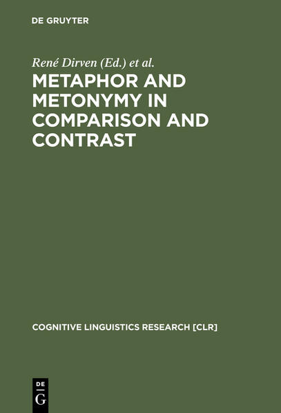 Metaphor and Metonymy in Comparison and Contrast - Coverbild