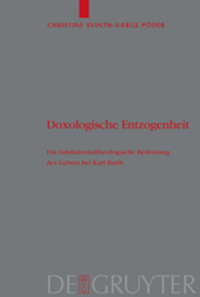 Doxologische Entzogenheit - Coverbild
