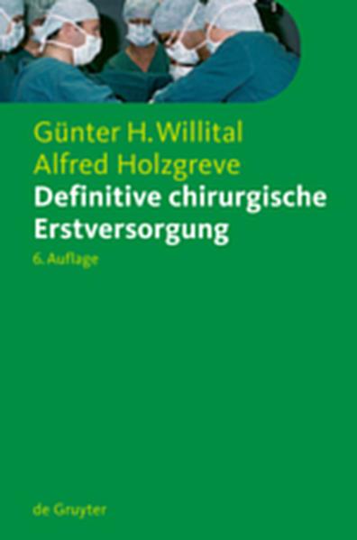 Definitive chirurgische Erstversorgung - Coverbild