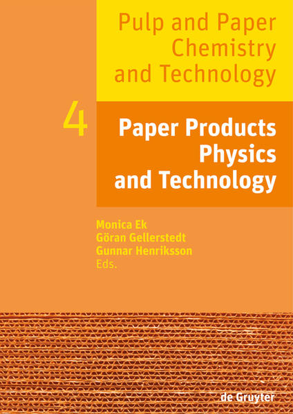 Pulp and Paper Chemistry and Technology / Paper Products Physics and Technology - Coverbild