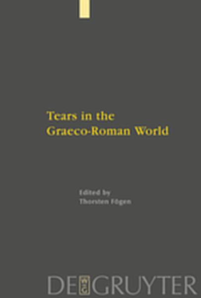 Tears in the Graeco-Roman World - Coverbild
