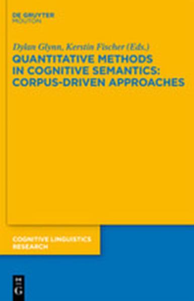 Quantitative Methods in Cognitive Semantics: Corpus-Driven Approaches - Coverbild